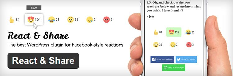 React & Share