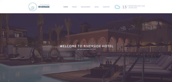Riverside Resort – A Professional Hotel & Resort WordPress Theme