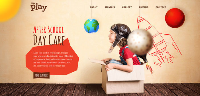 Kids Play – A Colorful & Joyful Children WordPress Theme