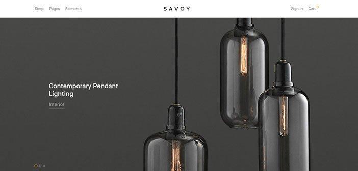 Savoy - Minimalist AJAX WooCommerce Theme