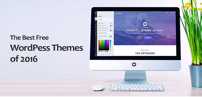 55+ Best Free WordPress Themes for 2016