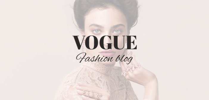 Vogue – A Modern Fashion Blog WordPress Theme