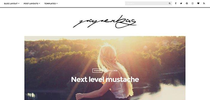Paperbag – A Stunning Blogging WordPress Theme