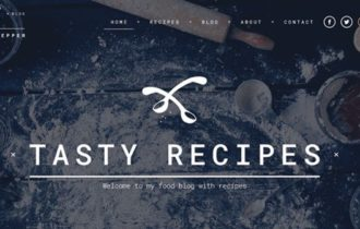 Salt & Pepper – The Ultimate Recipes WordPress Theme