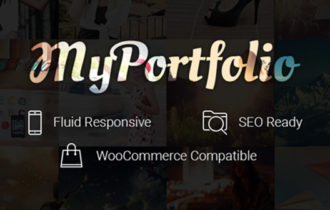 myPortfolio – A Stylish Premium WordPress Portfolio Theme