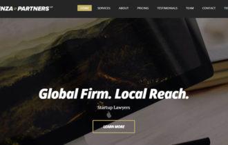 Potenza – Robust Single Page Business WordPress Theme