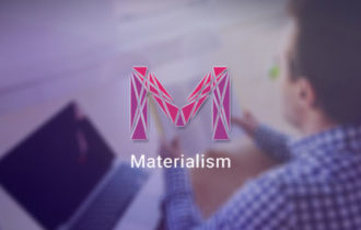Materialism – A Material Design One Page WordPress Theme