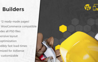 Builders – The Best WordPress Theme For Construction Websites