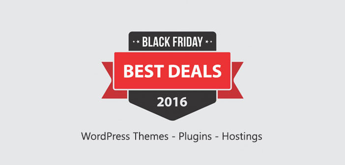 Black Friday & Cyber Monday WordPress Deals 2016