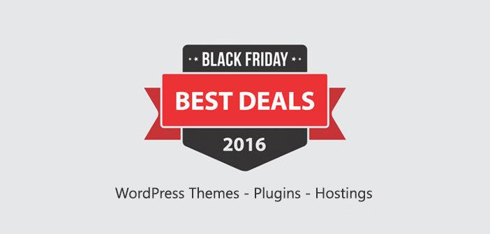 Black Friday & Cyber Monday WordPress Deals 2016