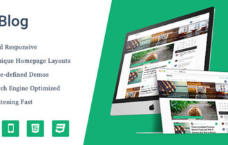 MyBlog – A Premium Professional Blog WordPress Theme