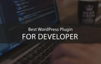 10 Must have WordPress Plugins for Developer