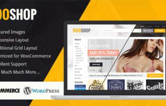 WooShop – A Beautiful WooCommerce WordPress Theme