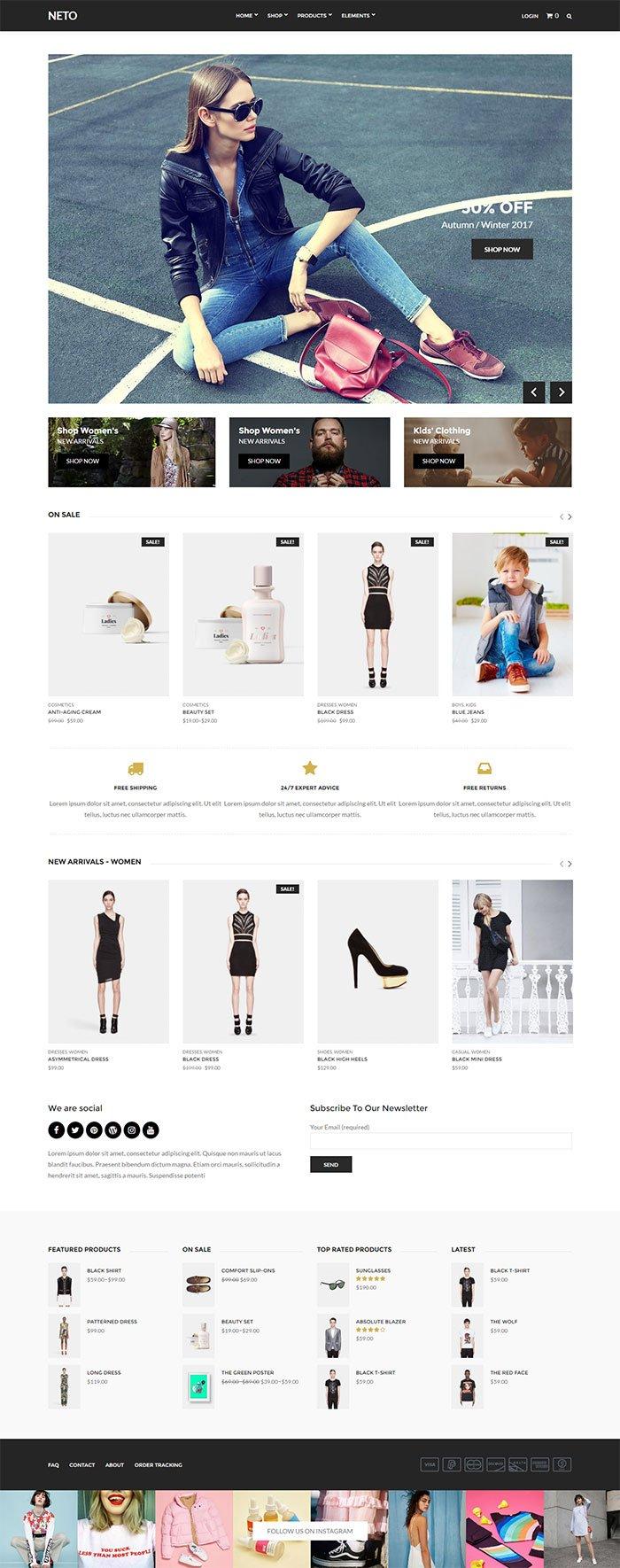 neto-ecommerce-wordpress-theme
