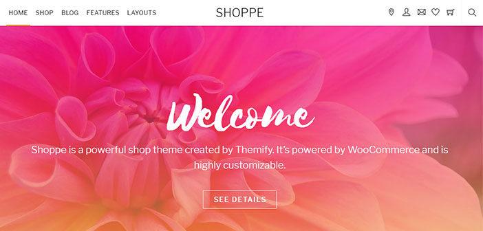 Shoppe – A Beautiful Multipurpose WooCommerce WordPress Theme