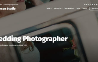 Benson – A Professionally Crafted Portfolio WordPress Theme