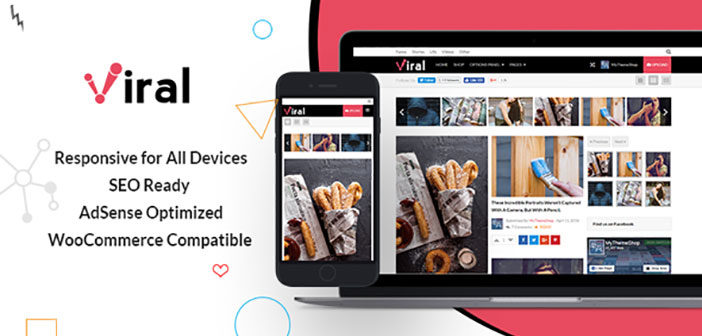 Viral – A Beautiful and Stylish Social Viral WordPress Theme