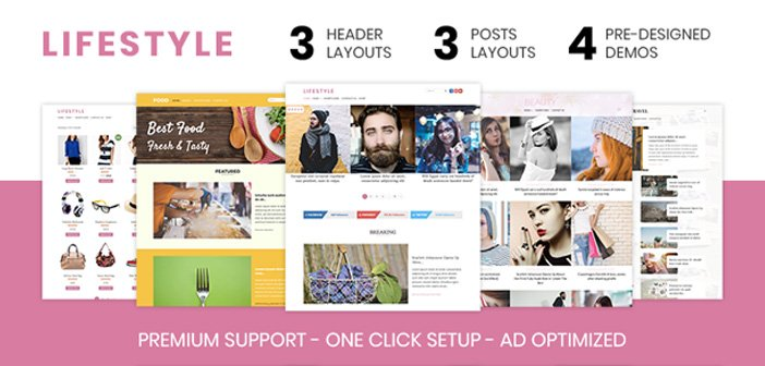 Lifestyle – An Elegantly Crafted Magazine WordPress Theme