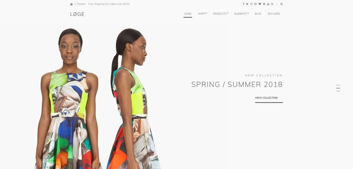 Loge – The Perfect WooCommerce Theme for Retailers
