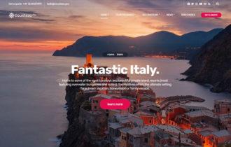 Cousteau Pro – A Modern Travel blogger WordPress Theme