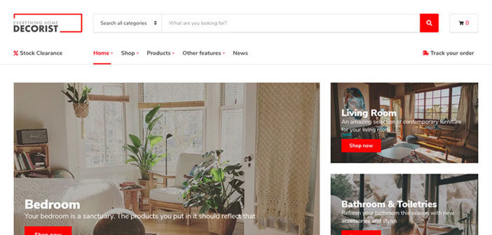 Decorist – A Minimal WooCommerce WordPress Theme