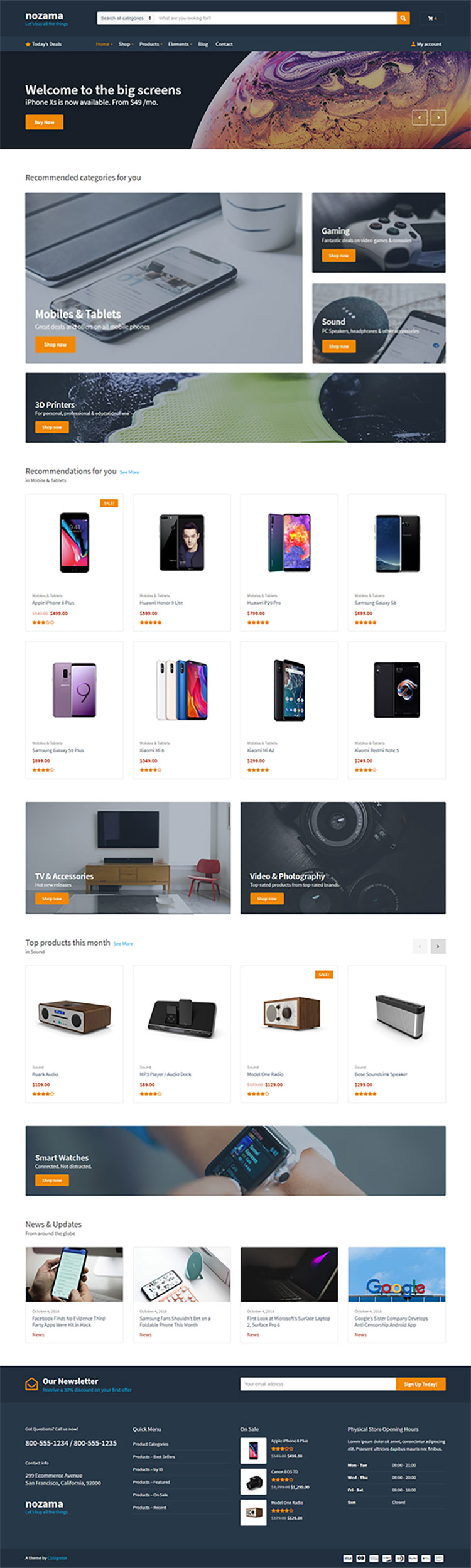 Nozama-WooCommerce-WordPress-Theme