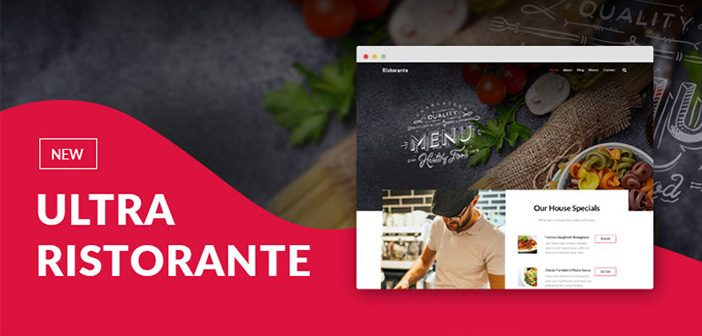 Ristorante Skin for Ultra WordPress Theme By Themify