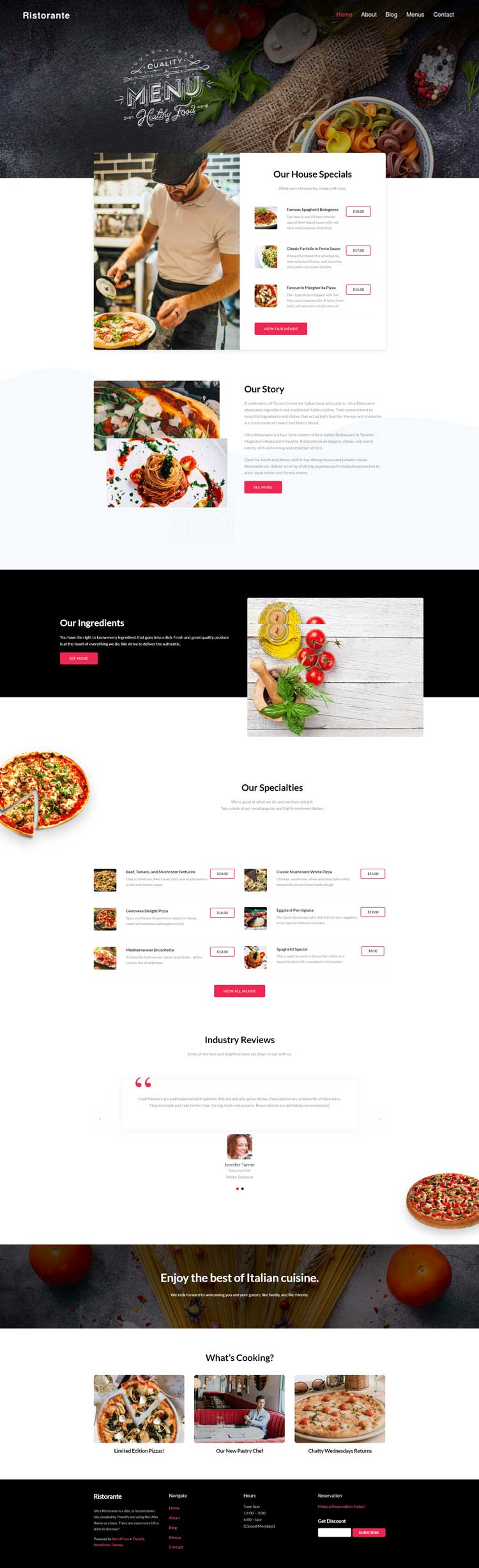 Ristorante-Skin-for-Ultra-WordPress-Theme-Preview