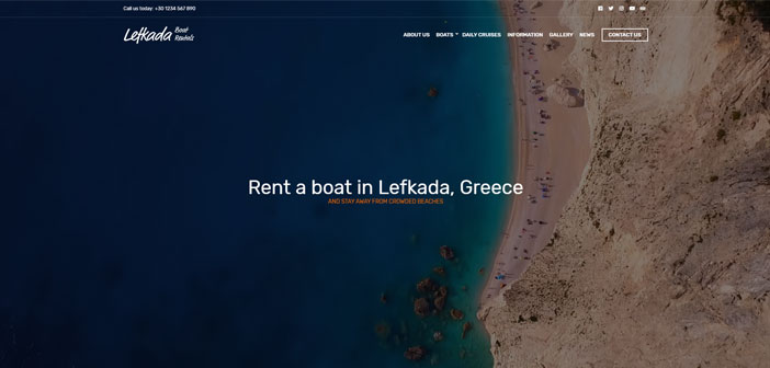 Lefkada – A Clean and Professional Business WordPress Theme